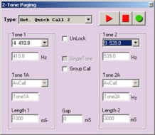 ComTekk paging software